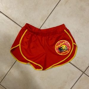 Baywatch lifeguard shorts
